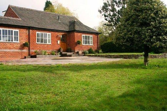 Annora House front garden.