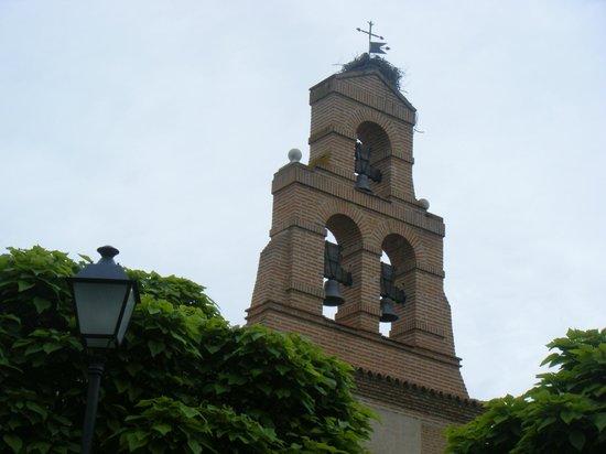 Castilla Termal Balneario de Olmedo: Campanario