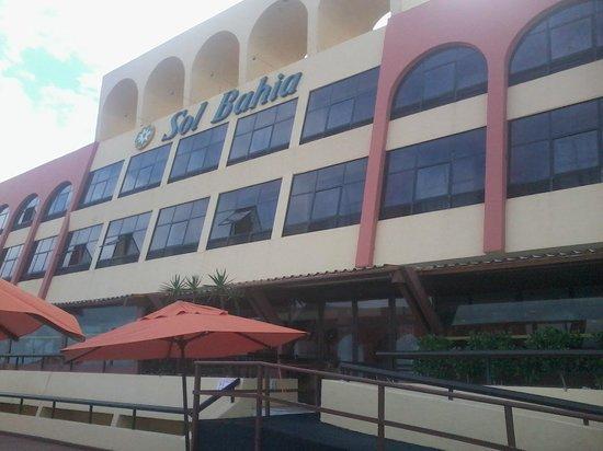 Sol Bahia Sleep: Vista para o restaurante