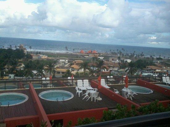 Sol Bahia Sleep: Vista de apartamento e da Piscinas