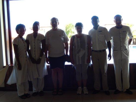 Tamassa Resort: accueil