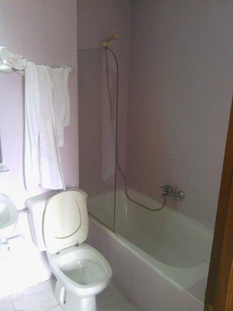 Los Acebos de Arriondas: aseo con bañera