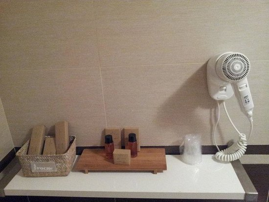Amelindo Fiumicino Airport Residence: набор ванных принадлежностей