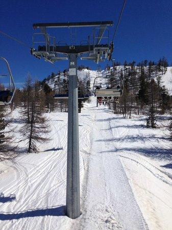 Club Hotel Grande Claviere: lovely ski area
