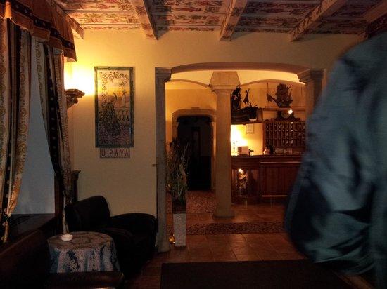 Hotel U Pava: entrata