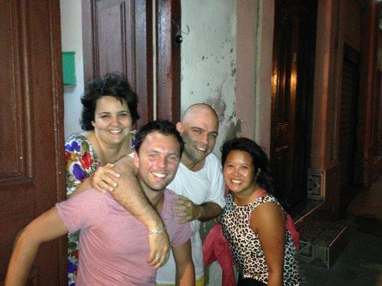 Casa La Cochera: Con Jorge y Suyen!