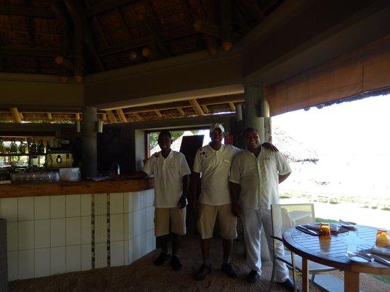 Tamassa Resort: restaurant la plage
