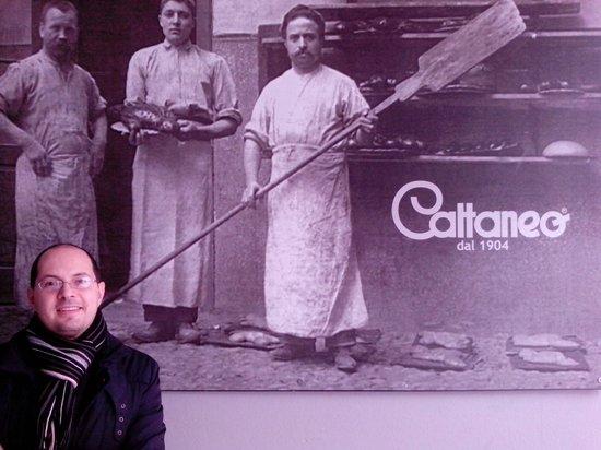 Pasticceria Cattaneo 1904 : MAX DI WIKITALIA.NET CON I FONDATORI DI CATTANEO