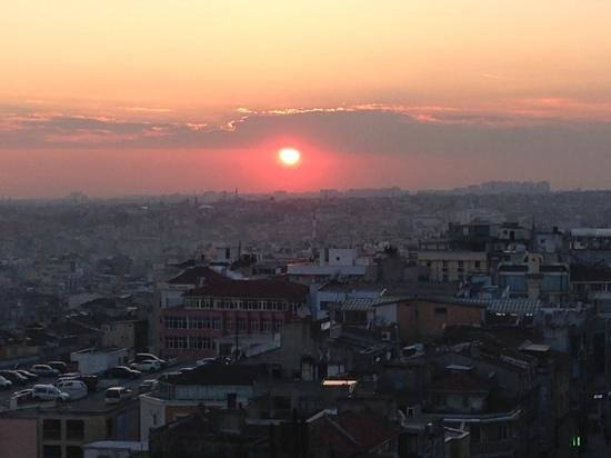 BEST WESTERN PLUS The President Hotel: sunset over istanbul