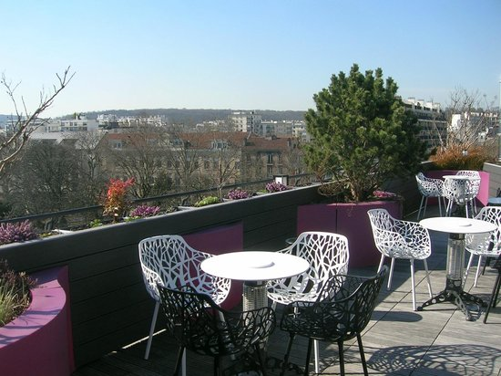 Courtyard by Marriott Paris Boulogne: roof top terrace