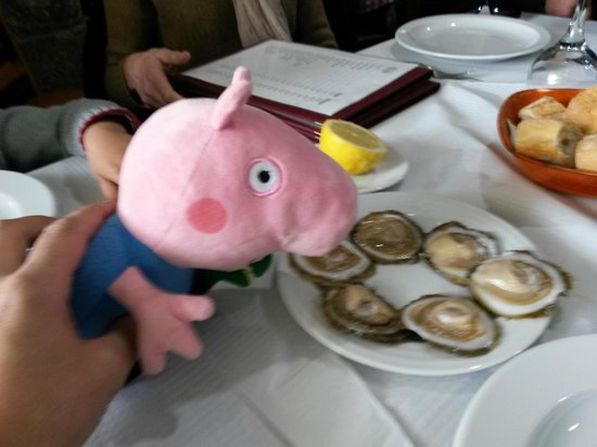 O Portón: las ostras con limon se dejaban comer