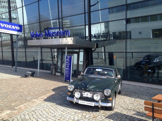 Volvo Museum: Entrance