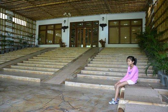 Resort Borgos : waiting area