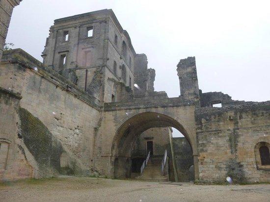 Abbaye de Montmajour : Vue arrière