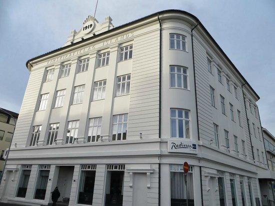 Radisson Blu 1919 Hotel, Reykjavik : Hotel Exterior
