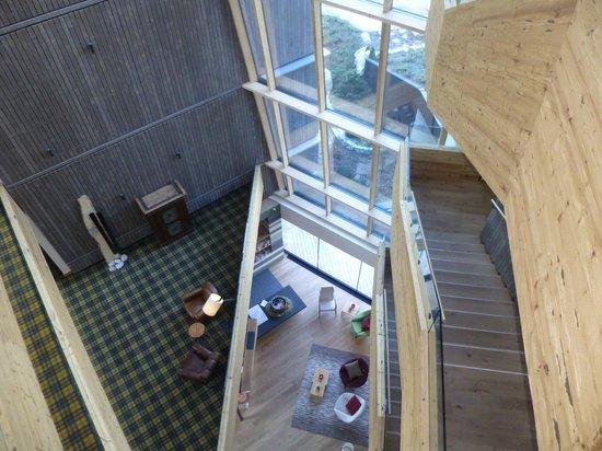 Falkensteiner Hotel Schladming: Foyer from above