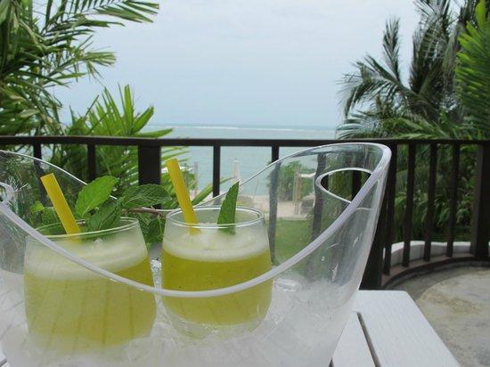 Villa Nalinnadda: weclome drink
