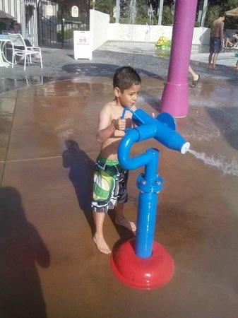 Howard Johnson Anaheim Hotel and Water Playground: kids loved it