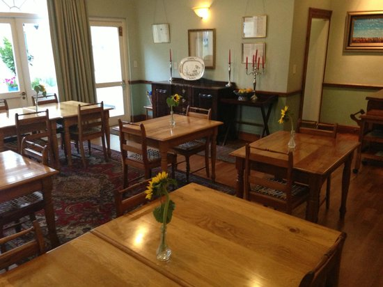 Eendracht Hotel: Breakfast dining area