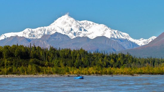 Hell Bent Fishing Charters -  Day Tours : Denali view, Chulitna River