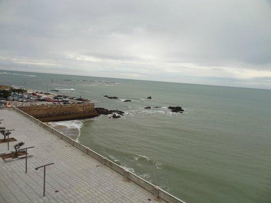 Parador de Cádiz: vue de la chambre