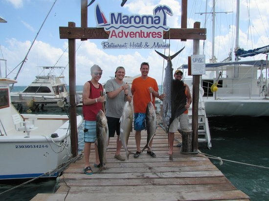 Maroma Adventures: Morning catch - March 16, 2014