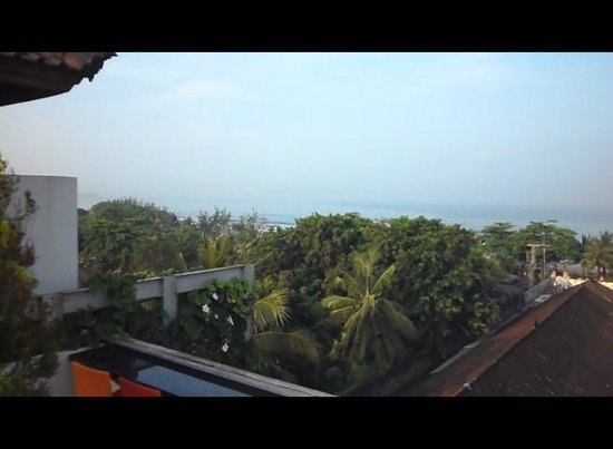 Best Western Kuta Beach: View from The Roof Top