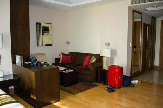 Ascott Sathorn Bangkok : Гостиная