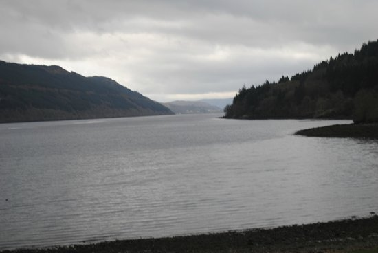 Ardgartan Hotel: View of Loch Long on which the hotel stands