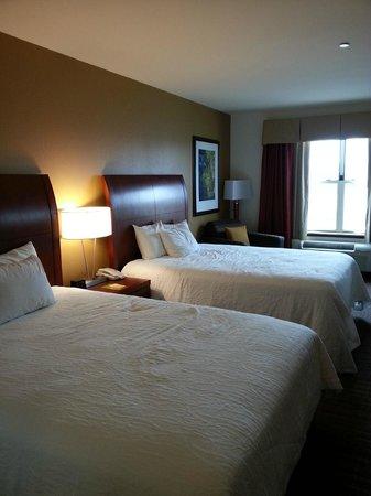 Hilton Garden Inn Rockford: Double Queen Room