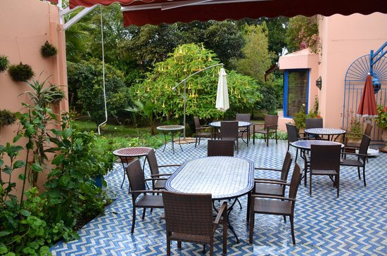 Villa Mandarine : Patio