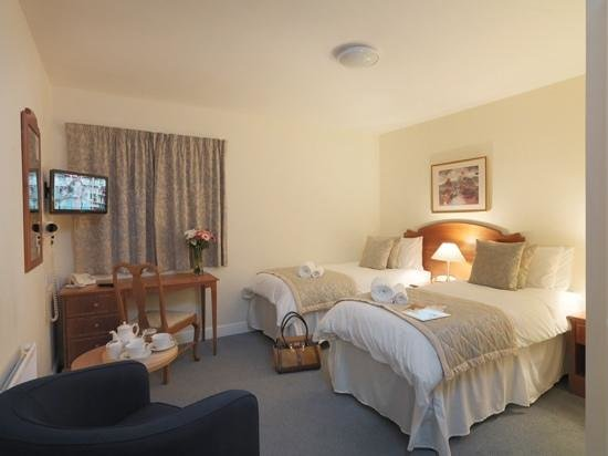 Yarnfield Park Training and Conference Centre: Twin rooms