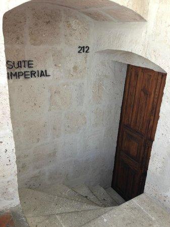 Casa Andina Premium Arequipa : Entrance to room