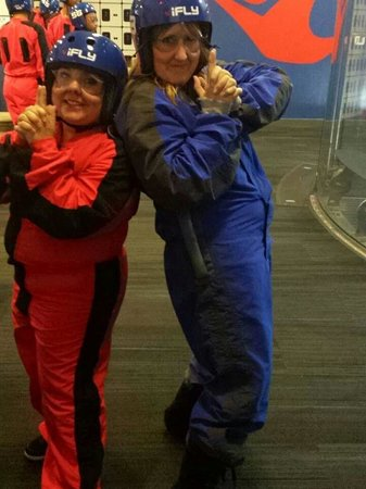 iFLY Austin Indoor Skydiving: Best bachlorette party ever!!!
