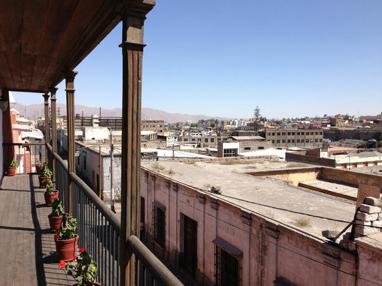 Casa Andina Premium Arequipa: View from our Balcony