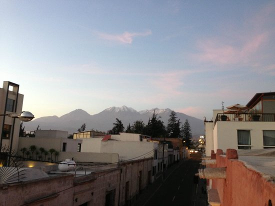 Casa Andina Private Collection Arequipa: View from the balcony
