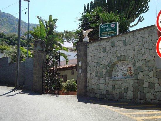 Hotel Casa Cigliano : entrata
