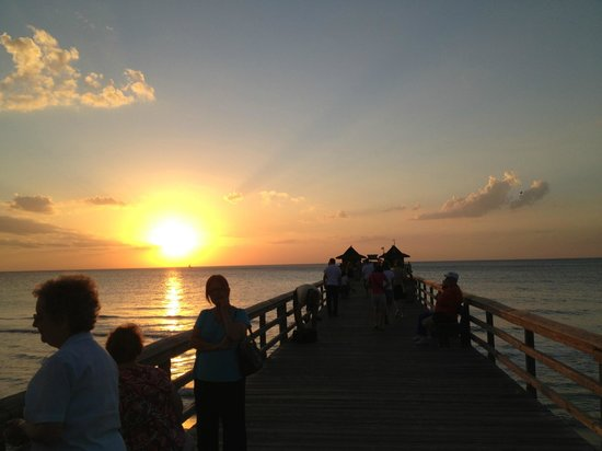 Naples Pier : Sunset at the Pier