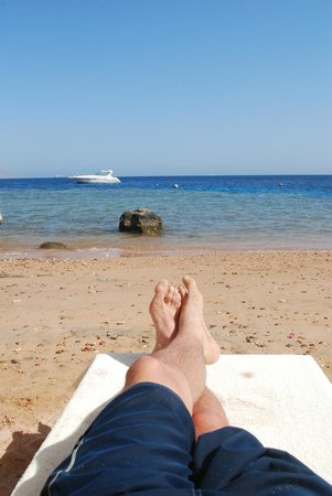 The Royal Savoy Sharm El Sheikh : View from the private beach
