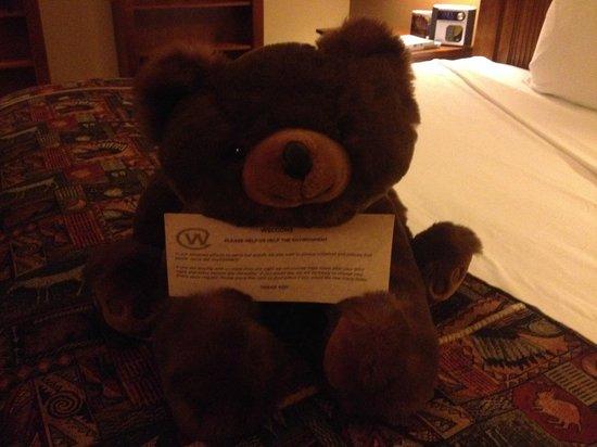 The Wort Hotel: Teddy Bear in each room