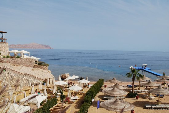 The Royal Savoy Sharm El Sheikh : The beach