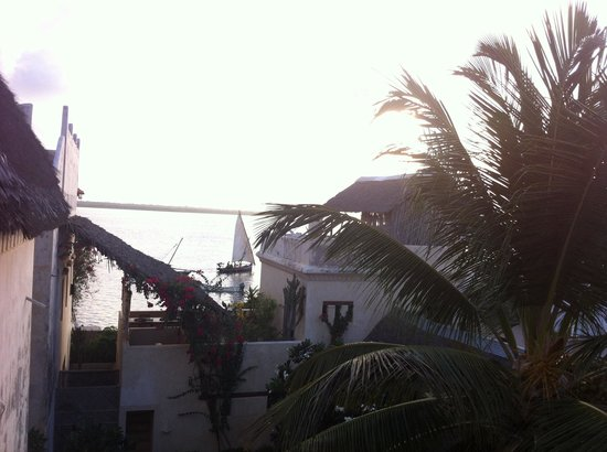 Lamu House Hotel: View from our balcony