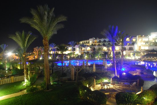 The Royal Savoy Sharm El Sheikh : View from our balcony