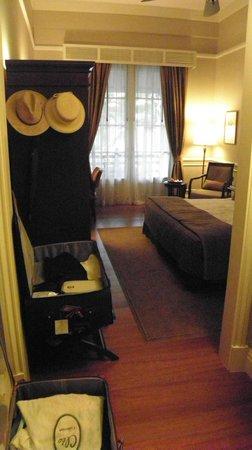 Raffles Hotel Le Royal: manque de place