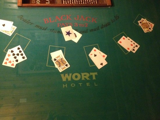 The Wort Hotel: Original Poker Table