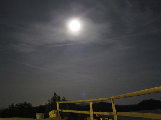 Agriturismo degli Olivi: Vista notturna
