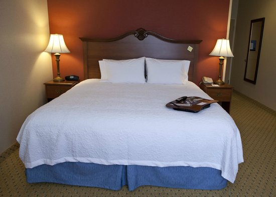 Hampton Inn & Suites Pittsburg: Standard King Room