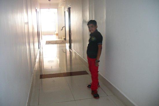 corridoor of hotel Rhishabh