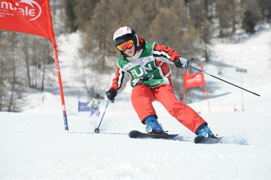 Centrale Scuola Sci e Snowboard: Gara corso fun.