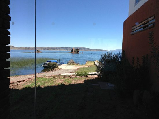 Titilaka: View from hotel grounds